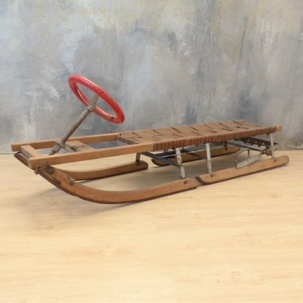Antique large steering...