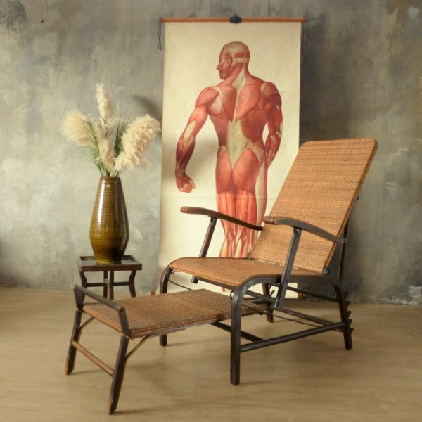 Bauhaus Garden Lounger in...