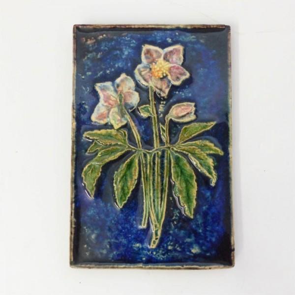 Vintage ceramic wall tile...