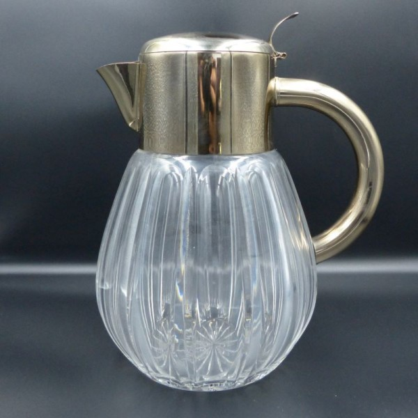 Lead crystal water carafe....